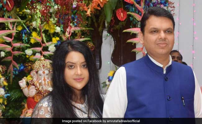 'Proud Of Your Decision': Amruta Fadnavis To Husband Devendra Fadnavis