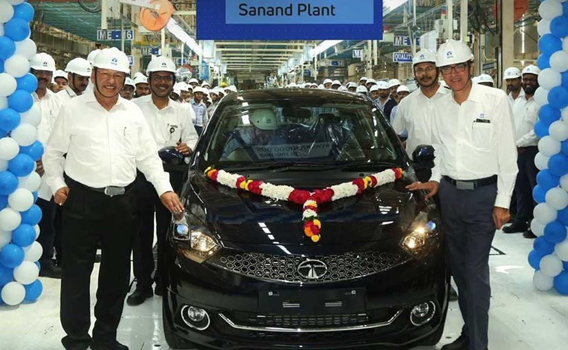 Tata Motors Crosses 500,000 Production Milestone At Sanand Plant
