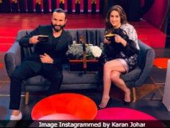 'Lights, Camera....Koffee!' Father-Daughter Duo Saif Ali Khan And Sara Ali Khan Kick Start The Shoot Of <I>Koffee With Karan</I> 6
