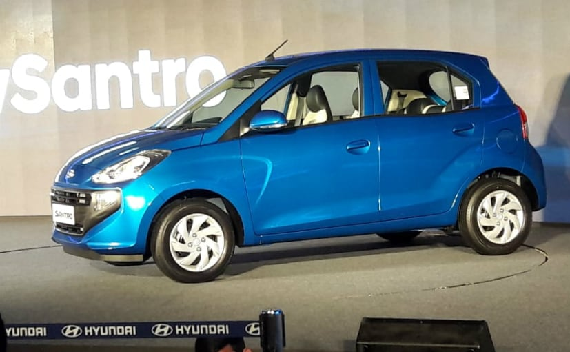 2018 Hyundai Santro CNG: All You Need to Know - NDTV CarAndBike