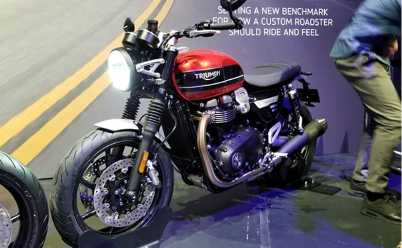 The 2019 Triumph Speed Twin will be unveiled at the EICMA show in Milan