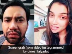 निरहुआ को थी ऑफिस जाने की जल्दबाजी, आम्रपाली दुबे ने यूं बजा डाला बाजा.. देखें Video