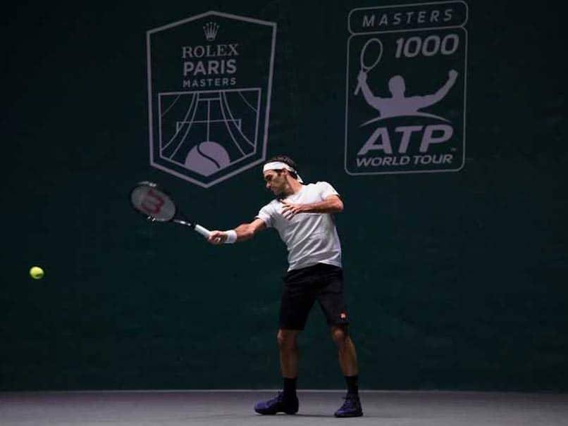 Roger Federer Confirms Paris Masters Participation