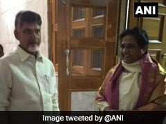 """As A Facilitator"": Chandrababu Naidu Meets Arvind Kejriwal, Mayawati"