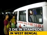 Video : 2 Killed, 17 Injured In Stampede At Foot Overbridge In Bengal's Howrah