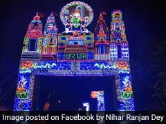 Lucknow Gets Rafale-Themed Durga Puja Pandal, 4 Cutouts For Selfie Points
