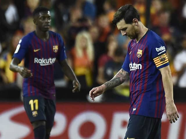 Barcelona Held At Valencia As Sevilla Go Top In La Liga