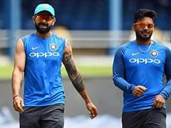 Rishabh Pant Set To Make Debut As India Announce Team For 1st ODI vs Windies
