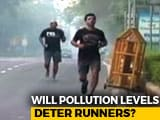 Video: Pollution No Problem For Marathoners