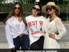This Pic Of Gauri Khan, Karisma Kapoor And Natasha Poonawalla Proves 'Off White Is The Colour Of The Season'