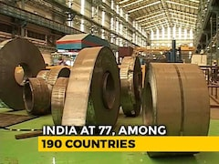 Video: India Jumps 23 Spots In 'Ease Of Doing Business' Index, Ranks 77