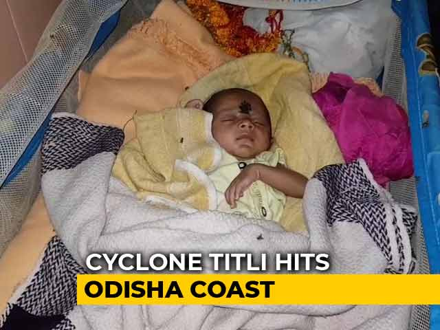 Video : Cyclone Titli Leaves 40-Day-Old Toofan Homeless