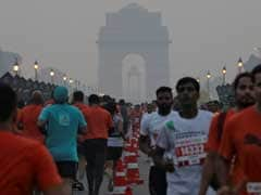 Half-Marathon In Delhi Uses Radio Waves To Clean Smoggy Air For Runners