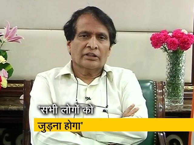 Videos : NDTV Cleanathon में बोले सुरेश प्रभु, सिर्फ सरकार के स्वच्छता अभियान से कुछ नहीं होगा