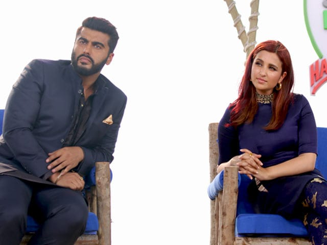 Video : Actor Arjun Kapoor And Parineeti Chopra Talk About Plastic Pollution