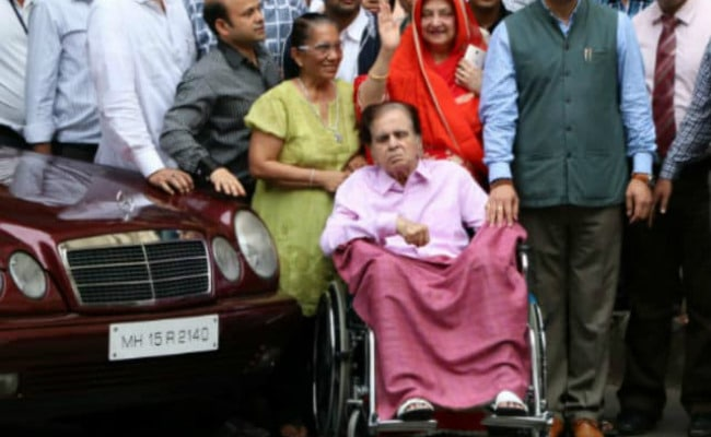 Dilip Kumar, In Hospital For Recurrent Pneumonia, Is 'Stable Now'
