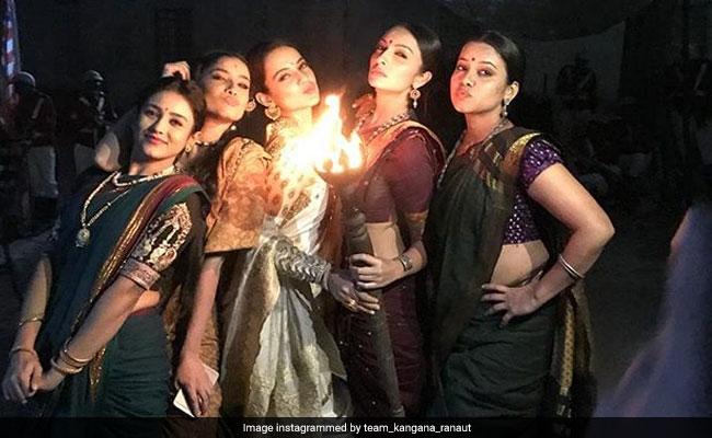 Kangana Ranaut And Manikarnika Co-Stars Celebrate Viral Teaser Like This
