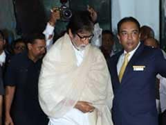 Amitabh Bachchan, Aishwarya And Other Stars Join Family At Krishna Raj Kapoor's Prayer Meet