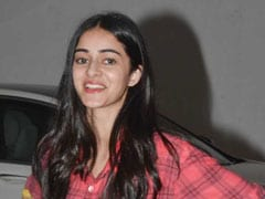 Ananya Pandey Reminds Us That Ombre Shirts Will Never Go Out Of Style