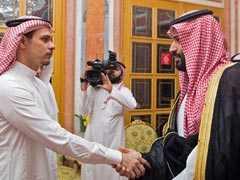 Handshake, Condolences As Saudi Royals Meet Jamal Khashoggi's Family