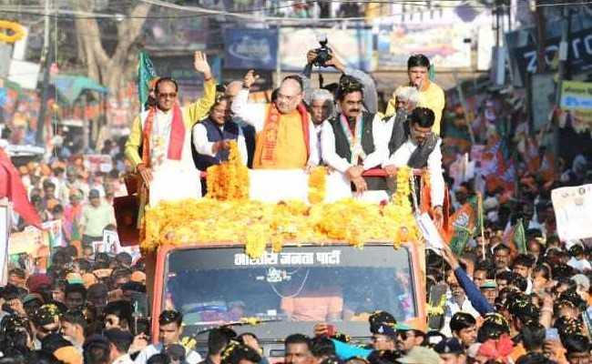मध्यप्रदेश में तो भाजपा की सरकार अंगद का पैर : अमित शाह