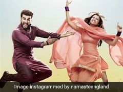<I>Namaste England</I> Movie Review: Parineeti Chopra And Arjun Kapoor Ham Aimlessly Through Infantile Drama
