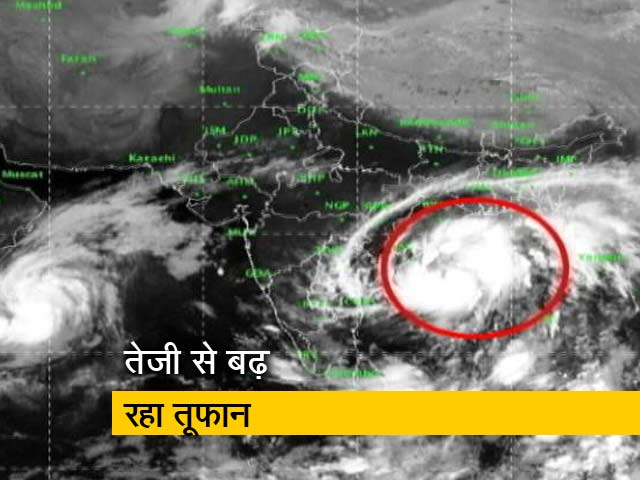 Video : 'तितली' के खौफ से ओडिशा, आंध्रप्रदेश में अलर्ट