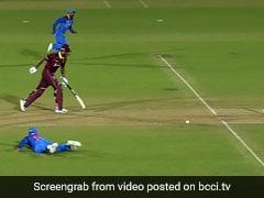 IND VS WI: विराट कोहली ने हवा में उड़कर किया रन आउट, देखते रह गए धोनी, देखें VIDEO