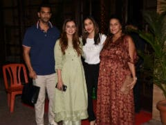 Inside Neha Dhupia, Angad Bedi's Midweek House Party With Dia Mirza, Sophie Choudry And Others