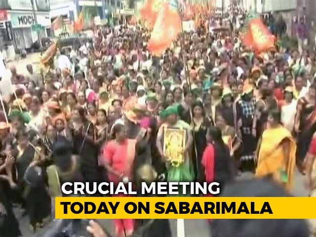 Video : Sabarimala Temple Body To Meet Soon As Protests Grow Over Women's Entry