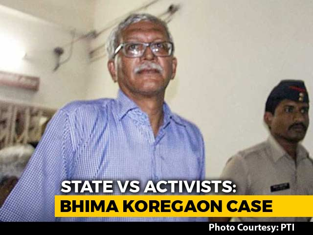 Video : Police Custody For Activists Vernon Gonsalves, Arun Ferreira Till Nov 6