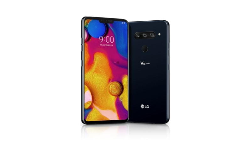 LG V40 ThinQ लॉन्च, पांच कैमरे दिए गए हैं इसमें