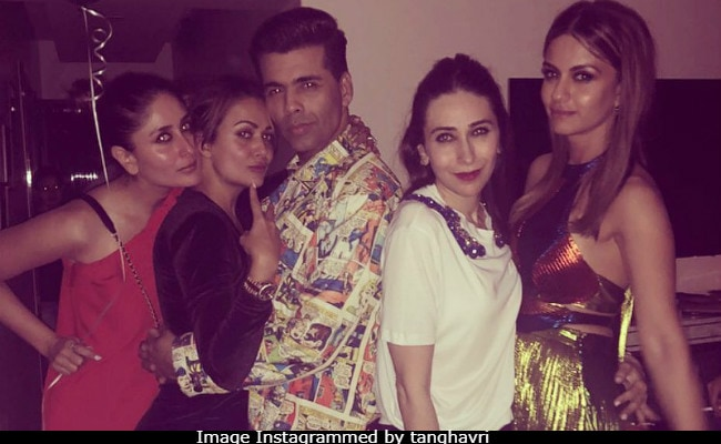 What Happens When Kareena, Karisma Kapoor, Jacqueline Fernandez, Janhvi Kapoor Party Together