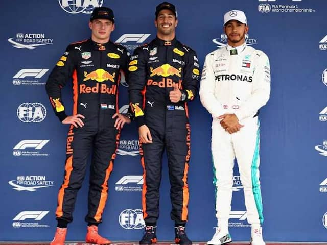 Mexican GP: Daniel Ricciardo Upstages Max Verstappen As Red Bull Lockout Front Row, Lewis Hamilton Third