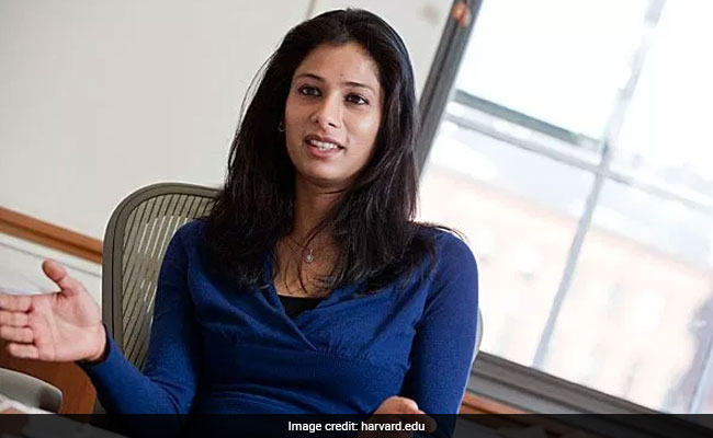 International Monetary Fund appoints Harvard`s Gita Gopinath as chief economist