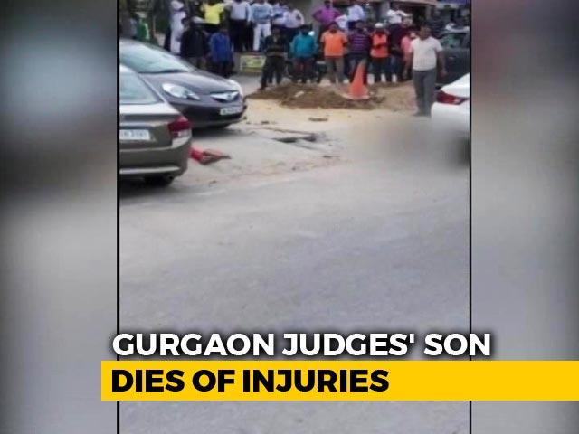Video : Gurgaon Judge's Son Dies Days After He Was Shot At By Guard Outside Mall