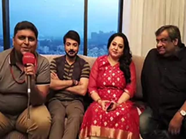 Video : NDTV বাংলায় কিশোর কুমার জুনিয়র-এর আড্ডায় প্রসেনজিৎ, অপরাজিতা এবং কৌশিক গাঙ্গুলি