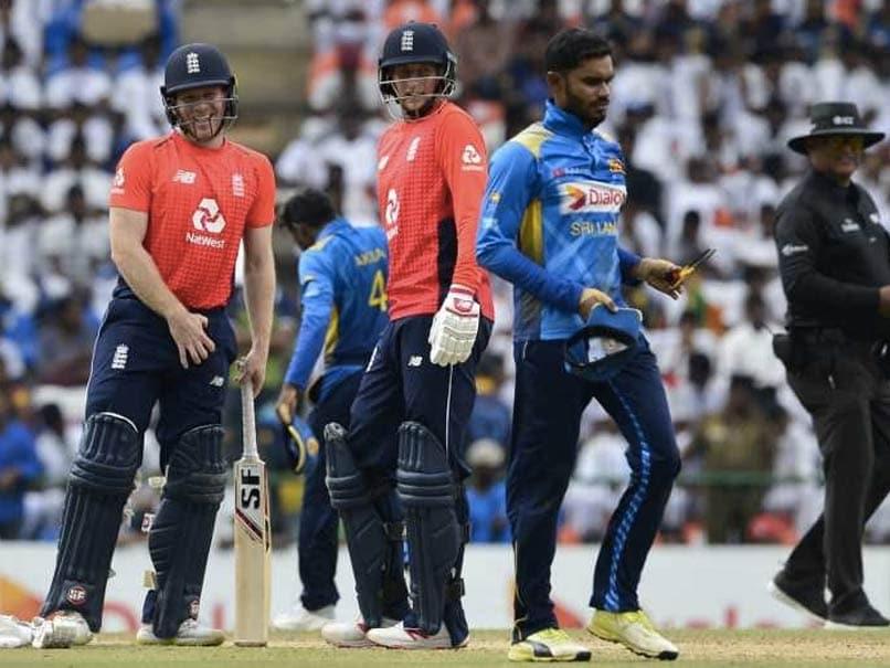 England Beat Sri Lanka In Rain-Affected 4th ODI To Seal Series