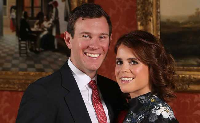 Princess Eugenie marries in 2nd big UK royal wedding of the year