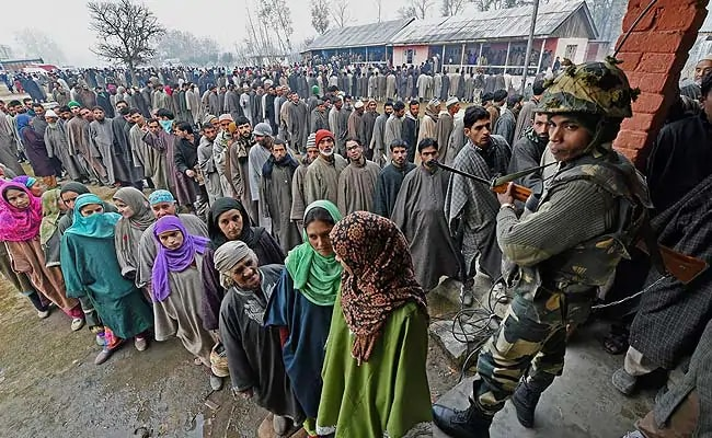 16.97 Lakh Electors To Vote in Four-Phased Jammu And Kashmir Civic Polls