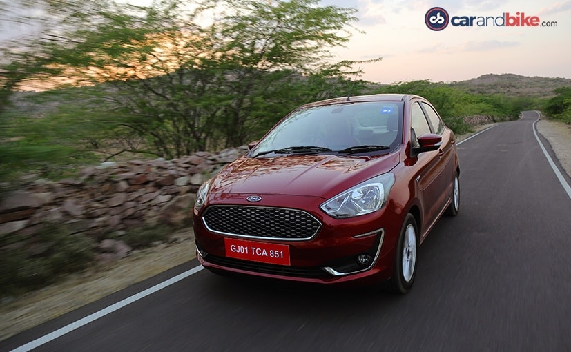 2018 Ford Aspire Facelift Review Ndtv Carandbike