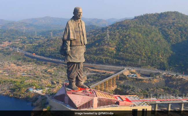 Statue Of Unity, On The Banks Of Narmada, Opens Today. See Stunning Pics