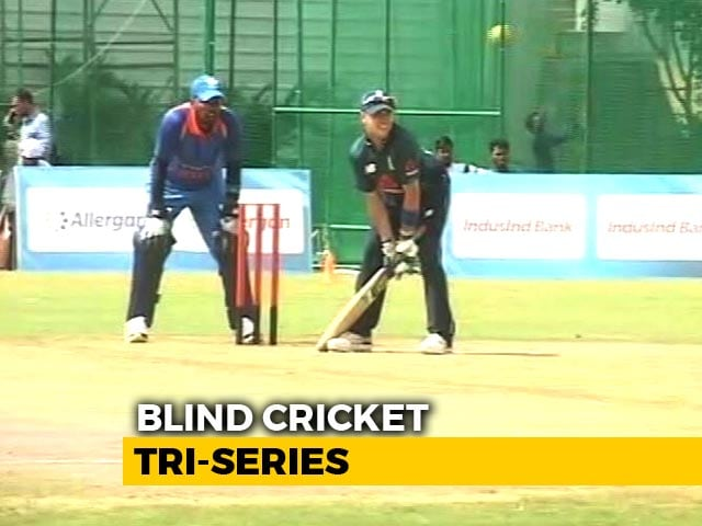 Video : India's Blind Cricket Team Is Best In The World, Says England Captain Ed Hossell