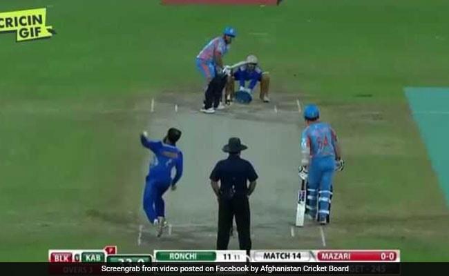इस खिलाड़ी ने किया बड़ा धमाका, एक ओवर में जड़ दिए 6 छक्के, देखें VIDEO