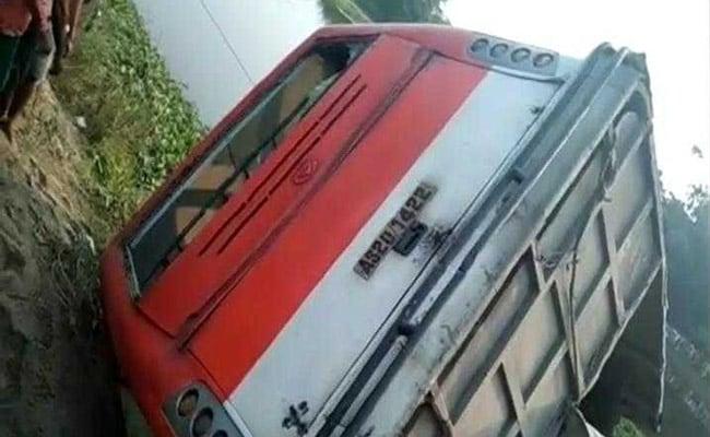 असम में बस हादसे में 7 की मौत, 20 से अधिक गंभीर रूप से घायल