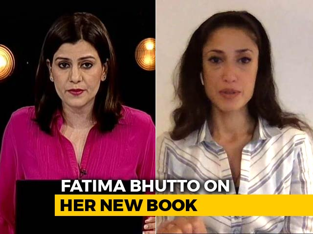 """Video : """"Imran Khan Playing Politics Of Opportunism"""": Fatima Bhutto To NDTV"""