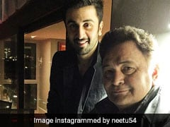 Ranbir And Rishi Kapoor In Neetu's 'Role Reversal' Pic Will Make You All Emo