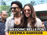 Video : Yes, Deepika Padukone And Ranveer Singh Are Getting Married In November