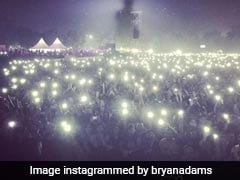 "Bryan Adams Stunned By Delhi's October Smog, Says ""Could See My Shadow"""