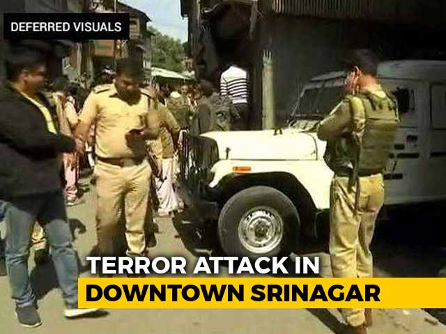 Video : 2 Shot Dead By Terrorists In Srinagar, Days Before Civic Polls
